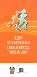 CARTEL.13ª OLIMP