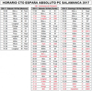 HORARIO CTO.ESPAÑA.ABSTO.2017