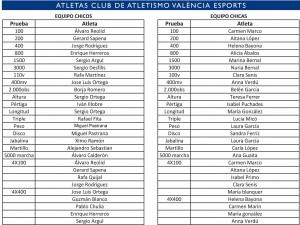 ATLETAS C.A.VAL.JÚNIOR